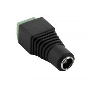 NEOSTAR Strom-Adapter, DC-Adapter - Kupplung, 2.1mm/5.5mm auf Lüsterklemme 2-pol. (weiblich)
