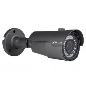 BALTER 4.0MP Infrarot IP Außenkamera, 2.8-12mm Motorzoom, 2592x1520p, Nachtsicht 30m, H.265, PoE/12V DC, IP66