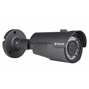 BALTER 2.0MP Infrarot IP Außenkamera, 2.8-12mm Motorzoom, 1920x1080p, Nachtsicht 30m, H.265, PoE/12V DC, IP66