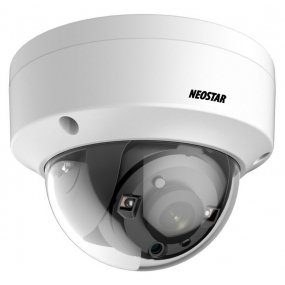 NEOSTAR 2.0MP Vandalensichere EXIR HD-TVI Dome-Kamera, 3.6mm, Nachtsicht 25m, WDR 120dB, Smart-IR, 12V DC, IP66