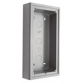 Aluminium Aufputz-Montagebox für die Türstationen (BMV-T2401W, BMV-T2401WR, BMV-T2402W, BMV-T2403W und BMV-T2404W)