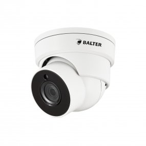 BALTER 4.0MP Infrarot Mini IP Dome-Kamera, 3.6mm Objektiv, 2592x1520p, Nachtsicht 30m, WDR 120dB , H.265, PoE/12V DC, IP66
