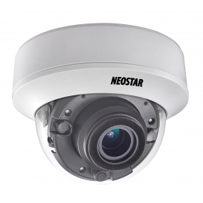 NEOSTAR 5.0MP EXIR HD-TVI Dome-Kamera, 2.8-12mm Motorzoom, Nachtsicht 30m, Smart-IR, 12V DC