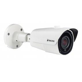 BALTER 4.0MP Infrarot IP Außenkamera, 2.8-12mm Motorzoom, 2592x1520p, Nachtsicht 30m, WDR 120dB, H.265, PoE/12V DC, IP66