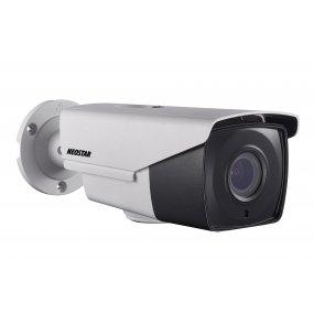 NEOSTAR 5.0MP EXIR HD-TVI Außenkamera, 2.8-12mm Motorzoom, Nachtsicht 40m, WDR 120dB, Smart-IR, 12V DC, IP66