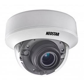 NEOSTAR 2.0MP EXIR HD-TVI Dome-Kamera, 2.8-12mm Motorzoom, Nachtsicht 30m, WDR 120dB, Smart-IR, 12V DC