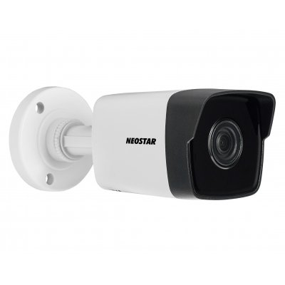 NEOSTAR 4.0MP Infrarot IP Außenkamera, 4mm, 2688x1520p, Nachtsicht 30m, H.264+, VCA, PoE/12V DC, IP67