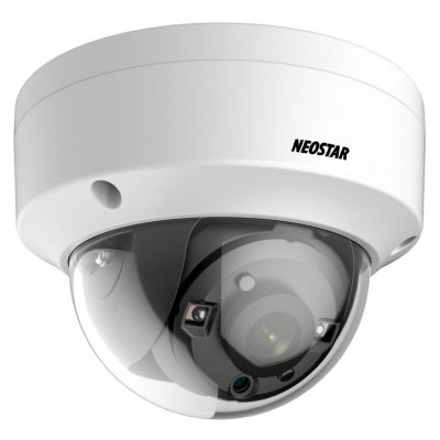 NEOSTAR 2.0MP EXIR HD-TVI Dome-Kamera, 2.8mm, Nachtsicht 25m, WDR 120dB, Smart-IR, 12V DC, IP67