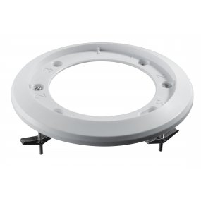 Deckeneinbaukit aus Aluminium für die NEOSTAR Vario / Motorzoom Dome-Kameras, weiß