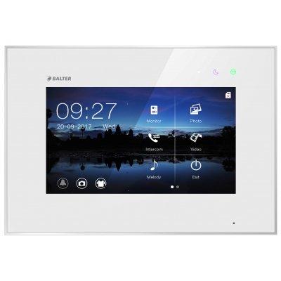 "BALTER EVO 7 "" Videostation, Kapazitive Touchscreen-Technologie, 2-Draht BUS, Plexiglas, Interkom, microSD-Slot, Weiß"