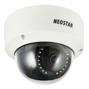 NEOSTAR 2.0MP Infrarot IP Dome-Kamera, 2.8mm, 1920x1080p, Nachtsicht 30m, H.264+ / H.264, PoE/12V DC, IP67