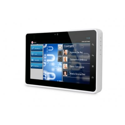 "InfinitePlay 7 "" IP Videostation, Touchscreen-Technologie, Monitor-Rahmen in Weiß"