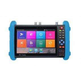 "NEOSTAR 7"" IPS Testmonitor, 4K, IP + HD-SDI, EX-SDI, AHD, CVI, TVI, Analog, RS-485, Audio, HDMI, Akku"