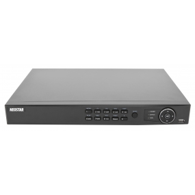 NEOSTAR 8-Kanal TVI / AHD / CVI + IP Videorekorder, H.265+/H.264+, 5MP (TVI) / 6MP (IP), Audio, Alarm, CMS, 12V DC
