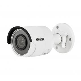 NEOSTAR 8.0MP EXIR IP Außenkamera, 2.8mm, 3840x2160p, Nachtsicht 30m, WDR 120dB, H.265+, VCA, PoE/12V DC, IK10, IP67