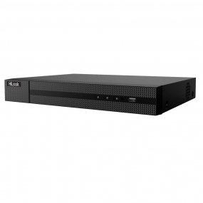 HiLook 4-Kanal 4K UHD PoE NVR, 3840x2160p, 40Mbit, H.265+, VCA, CMS, HDMI 4K, 48V DC