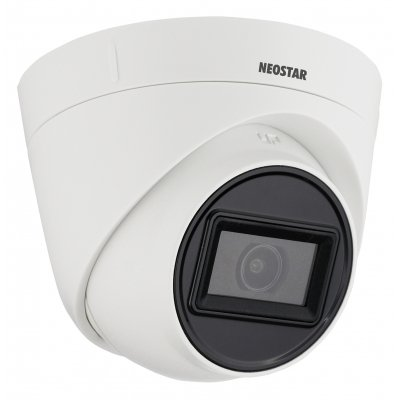 NEOSTAR 5.0MP EXIR TVI / CVI / AHD Dome-Kamera, 2.8mm, Nachtsicht 25m, Smart-IR, TVI / AHD / CVI / CVBS, D-WDR, 12V DC, IP67