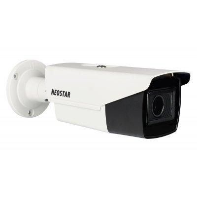 NEOSTAR 8.0MP 4K TVI EXIR Außenkamera, 2.7-13.5mm Motorzoom, Auto-Fokus, Nachtsicht 80m, WDR, 12V DC / 24V AC, IP67