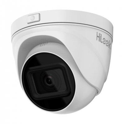 HiLook 4.0MP Infrarot IP Turret Kamera, 2.8-12mm Motorzoom, 2560x1440p, Nachtsicht 30m, WDR 120dB, H.265+, PoE/12V DC, IP67