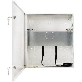 Metallgehäuse für DVR / NVR, Monitore, PoE Switche – Desktop Version, RACK 19 Zoll, Platz für Akku 4x7Ah/12V