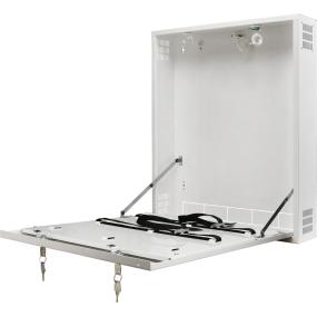 Metallgehäuse für DVR / NVR - Montage – Desktop Version, Sabotageschutz