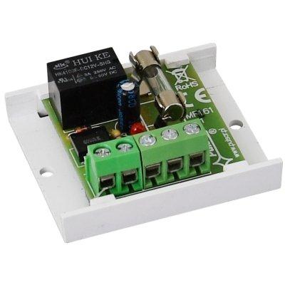 Relaismodul PU1, Versorgung 16VDC/13VAC, Relais 1x REL-C/NO/NC, 1A@30VDC/50VAC, Schmelzsicherung 1.5A
