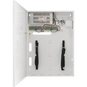Stromkasten mit 14A / 12V DC Leistung für 16 Kameras mit Platz für Rekorder DVR / NVR, Metallgehäuse