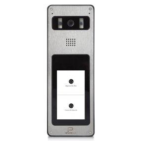 InfinitePlay IP Video-Türstation für 1 bis 4 Familien, 5.0MP Kamera, Weißlicht-LEDs, Aufputz-Montage, PoE