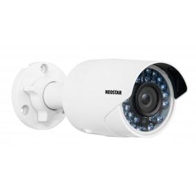 2MP IP Außenkamera, 4mm, 1920x1080p, Nachtsicht 20m, VCA, PoE/12V, IP66