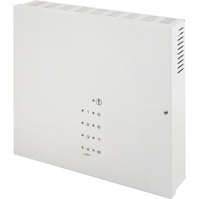 Stromkasten für 8 Kameras mit optischer LED-Anzeige, 8 x 1A Leistung, Ausgabe 12V, Metallgehäuse