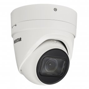 NEOSTAR 8.0MP EXIR IP Dome-Kamera, 2.8-12mm Motorzoom, 3840x2160p, Nachtsicht 30m, WDR, H.265, PoE/12V DC, IK10, IP67