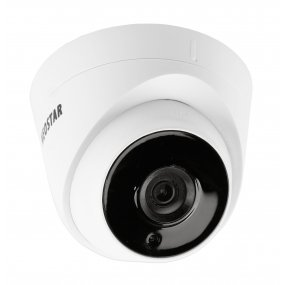 NEOSTAR 5.0MP EXIR TVI / CVI / AHD / CVBS Dome-Kamera, 2.8mm Weitwinkel, Nachtsicht 40m, D-WDR, 12V DC, IP67