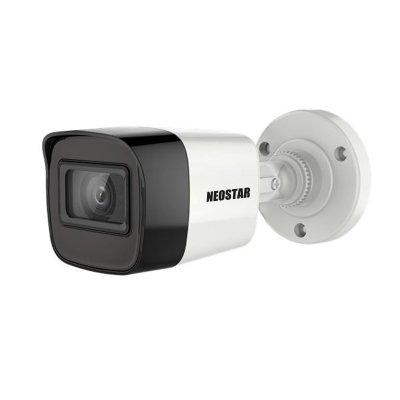 NEOSTAR 5.0MP EXIR TVI Außenkamera, 2.8mm, Nachtsicht 30m, WDR 130dB, Smart-IR, 12V DC, IP67