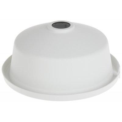 NEOSTAR Regenschutz-Abdeckung für vandalensichere Dome-Kameras, Aluminium, 225.1 x 98 mm