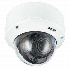 NEOSTAR 5.0MP Vandalensichere EXIR TVI / CVI / AHD Dome-Kamera, 2.7-13.5mm Motorzoom, Nachtsicht 60m, WDR, 12V DC / 24V AC, IP67