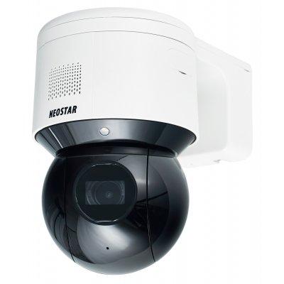 NEOSTAR 4.0MP WiFi IR IP Mini-PTZ-Kamera, 4X Zoom, Nachtsicht + Weißlicht 30m, Mikrofon + Lautsprecher, PoE/12V DC, IP66