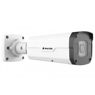 BALTER X PRO NightHawk IP Außenkamera mit 8.0MP, 2.8-12mm AF Motorzoom, Nachtsicht 50m, WDR, Deep Learning AI