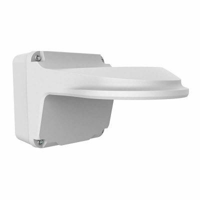 BALTER X Wandhalterung mit Anschlussdose für mini Dome-Kameras, Aluminium, Weiß