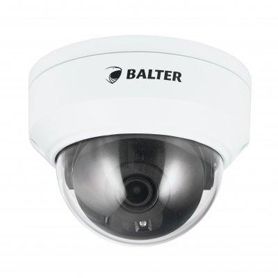 BALTER X ECO Vandalensichere IP Dome-Kamera mit 4.0MP, 2.8mm, Nachtsicht 30m, WDR, PoE/12V DC, IK10, IP67