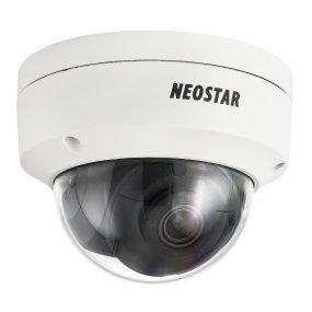 NEOSTAR 4.0MP EXIR IP Dome-Kamera, 2.8mm, 2560x1440p, Nachtsicht 30m, WDR 120dB, H.265+, PoE/12V DC, IK10, IP67