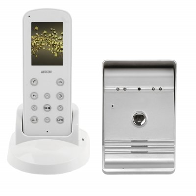 "Funk Video-Türsprechanlage, 2,4""LCD Funk-Videostation, Funk-Türstation"