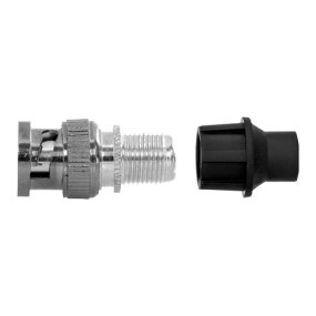 BNC-Stecker RG59, Universelle Kompatibilität mit Mikrokoaxial- und RG59