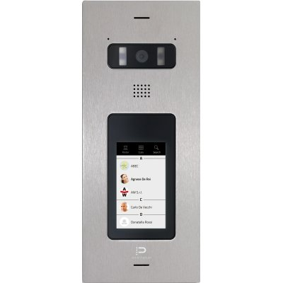 "InfinitePlay IP Video-Türstation, 4.3"" Touchscreen, HD Kamera, Weißlicht-LEDs, PoE"