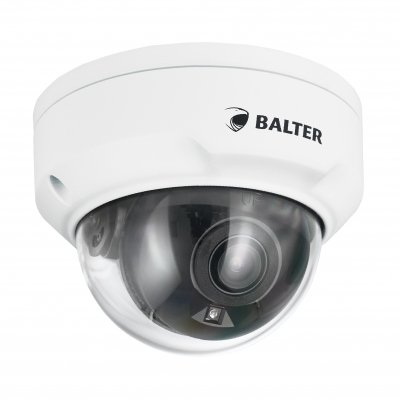 BALTER X PRO NightHawk Vandalensichere IP Dome-Kamera mit 4.0MP, 2.8mm, Nachtsicht 40m, Ultra Low Light, WDR, Deep Learning AI