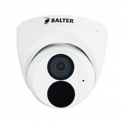 BALTER X ECO IP Eyeball Kamera mit 4.0MP, 2.8mm, Nachtsicht 30m, WDR 120dB, VCA, Privatzonen, PoE/12V DC, IP67