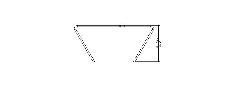 BALTER X Masthalterung für Außenkameras, Junction Boxen und PTZ-Kameras, 127 x 136 x 62.5 mm, Aluminium, Weiß