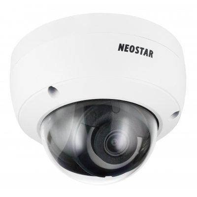 NEOSTAR 4.0MP EXIR IP Dome-Kamera, 2.8mm, 2688x1520p, Nachtsicht 30m, WDR, Mikrofon, IK10, IP67