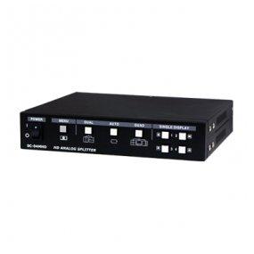 SeeEyes 4CH FBAS, AHD, TVI, CVI Eingang, Full HD-Ausgang HDMI, VGA, Quad Video-Splitter