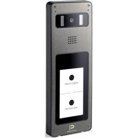 "IP Video-Türstation, 4,3"" Touch-Screen, HD Kamera, Weißlicht-LEDs, PoE"