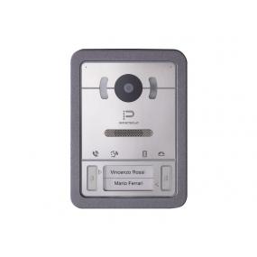 IP Video-Türstation, HD Kamera, Weißlicht-LEDs, PoE